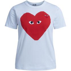 Vêtements Femme T-shirts manches courtes sages femmes en Afriques T-shirt  blanche avec coeur rouge Blanc