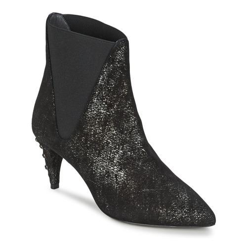 Chaussures Femme Bottines Stéphane Kelian ELSA 7 Noir