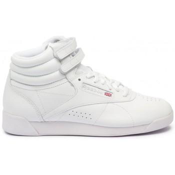 Chaussures Femme Baskets montantes Reebok Sport Classics Freestyle Hi blanc - bottines femme blanc