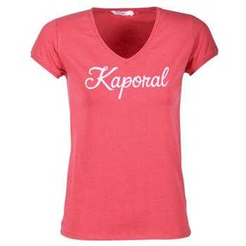 Vêtements Femme T-shirts manches courtes Kaporal NIAM Rose