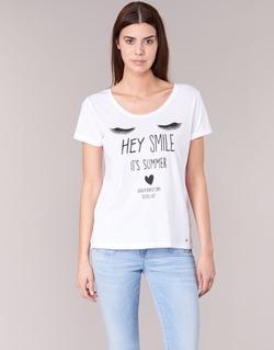Vêtements Femme T-shirts manches courtes Kaporal ASMA Blanc