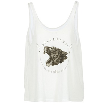 Vêtements Femme Débardeurs / T-shirts sans manche Billabong OPEN TANK Ecru