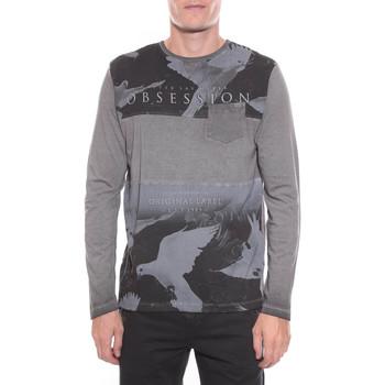 Vêtements Homme T-shirts manches longues Ritchie T-SHIRT JITECK Gris