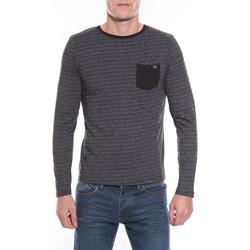 Vêtements Homme T-shirts manches longues Ritchie T-SHIRT JASA Noir
