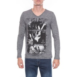 Vêtements Homme T-shirts manches longues Ritchie T-SHIRT JIRONDE Noir