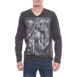 Vêtements Homme T-shirts manches longues Ritchie T-SHIRT JEMA Gris foncé
