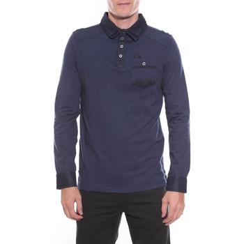 Vêtements Homme Polos manches longues Ritchie POLO PROME Bleu