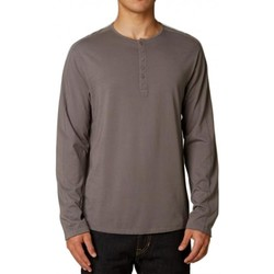 Vêtements Homme T-shirts manches longues Fox T-Shirt  Broder Ls Knit - Grey Gris