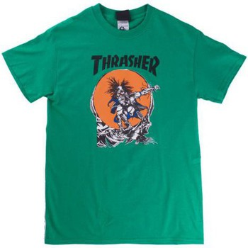 T-shirts manches courtes Thrasher T-shirt  Outlaw Vert