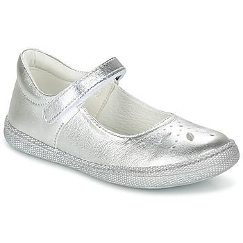 Chaussures Fille Ballerines / babies Primigi CLEMENCE-E Argent
