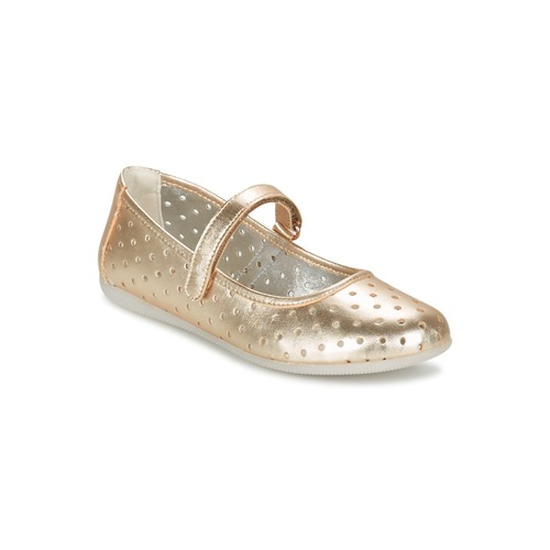 Chaussures Fille Ballerines / babies Primigi FANTASY FLAT Or