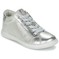 Chaussures Fille Baskets basses Primigi SUTRE Argent