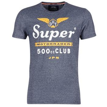 Vêtements Homme T-shirts manches courtes Superdry 500 CLUB MOTORRADER Gris