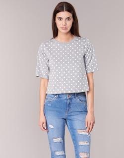 Vêtements Femme T-shirts manches courtes Compania Fantastica EPOITATI Gris / Blanc