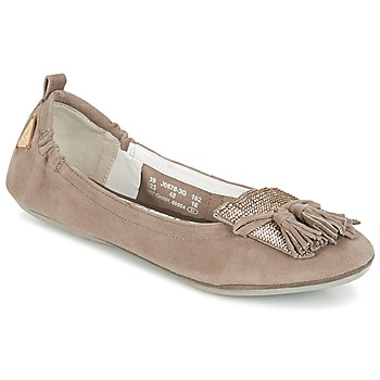 Chaussures Femme Ballerines / babies Bugatti MONATE Taupe