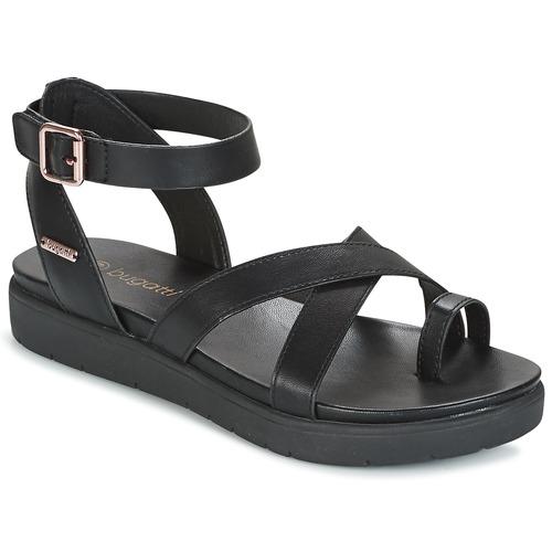 Chaussures Femme Sandales et Nu-pieds Bugatti VENATE Noir