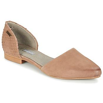 Chaussures Femme Ballerines / babies Bugatti GANOLETE Taupe