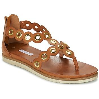 Chaussures Femme Sandales et Nu-pieds Bugatti BRETE Cognac