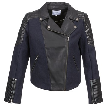 Vêtements Femme Vestes / Blazers Suncoo DARCY Marine / Noir