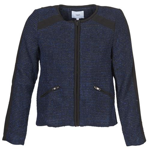 Vêtements Femme Vestes / Blazers Suncoo DANAELLE Bleu