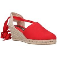 Chaussures Homme Espadrilles Fernandez VALENC. CINTAS - Rojo rouge