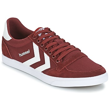 Chaussures Baskets basses Hummel STADIL CANEVAS LOW Bordeaux