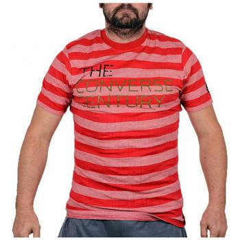 Vêtements Homme T-shirts manches courtes Converse CenturyT-shirtT-shirt Rouge