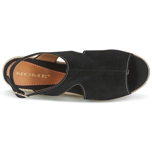 Destif Footwear Nome Nu Femme Noir Sandales Et pieds 0vwmN8n