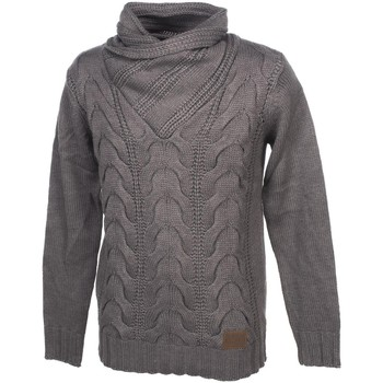 Vêtements Homme Pulls Biaggio Pandolom dk grey mel pull Gris anthracite chiné