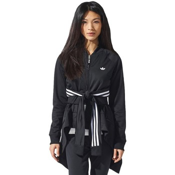 Vêtements Femme Pulls adidas Originals Couture Superstar Tracktop Noir