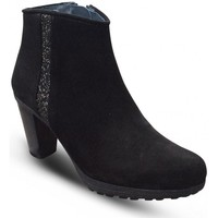 Bottines Reqins Boots talon  CARRIE Peau/Galaxy Noir