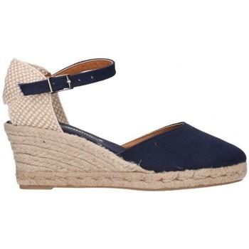 Chaussures Femme Espadrilles Fernandez Six cent quatre-vingt-deux bleu