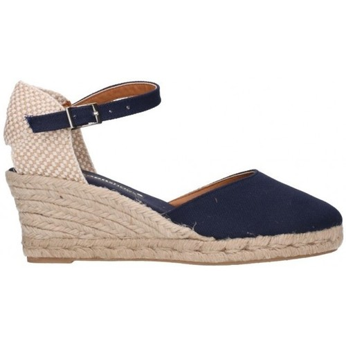 Chaussures Femme Espadrilles Fernandez 682  5c bleu
