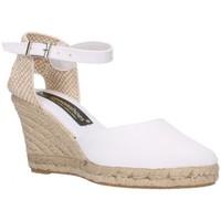 Chaussures Femme Espadrilles Fernandez Six cent quatre-vingt-deux blanc