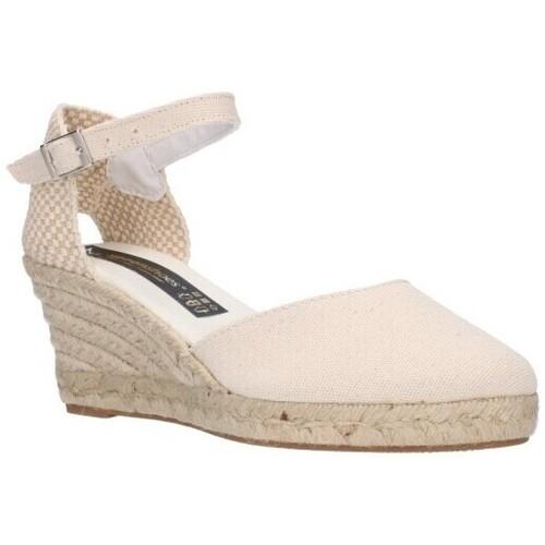 Chaussures Femme Espadrilles Fernandez 682   5c - Beige beige