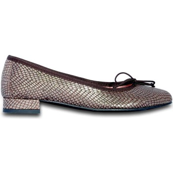 Chaussures Femme Ballerines / babies Euforia manoletina/slipper mujer - marron