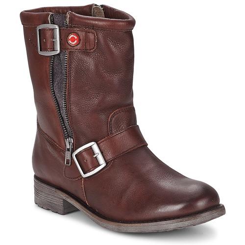 Bottines / Boots Nobrand FISCHERIES Marron 350x350