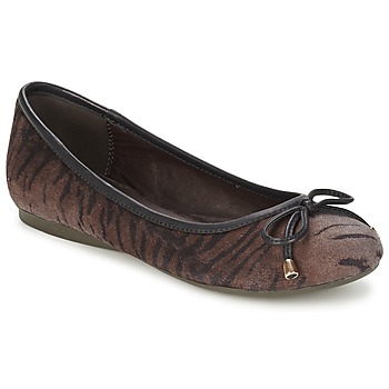 Chaussures Femme Ballerines / babies Moony Mood LIESA Marron
