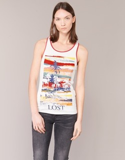 Vêtements Femme Débardeurs / T-shirts sans manche Smash PISSARO Blanc