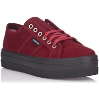 Chaussures Femme Baskets basses Victoria 9205 rouge