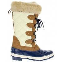 Chaussures Femme Bottes de neige Khombu Andie-kh/tn/nv Taupe