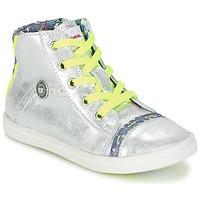 Chaussures Fille Baskets montantes Catimini PARULINE Argent