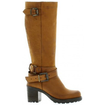 Pao Femme Bottes  Bottes Cuir Nubuck