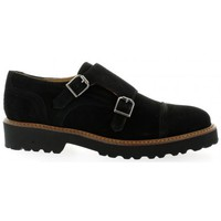 Mocassins Exit derby cuir velours