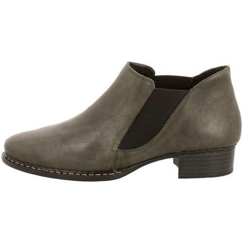 Chaussures Femme Boots Rieker 53683 gris