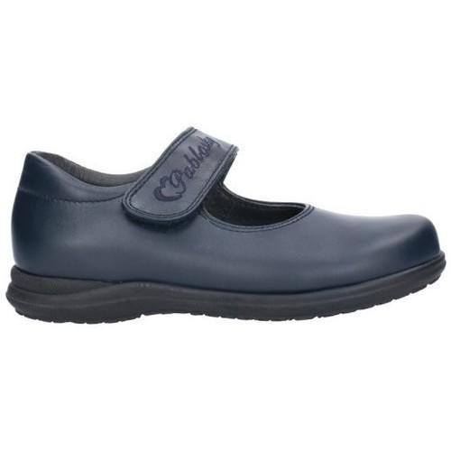 Chaussures Fille Ballerines / babies Pablosky COLEGIALES NIÑA - bleu