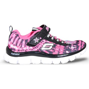 Chaussures Fille Baskets mode Skechers Deportivo rose