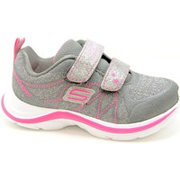 Chaussures Fille Baskets mode Skechers 81497n ccnp. gris