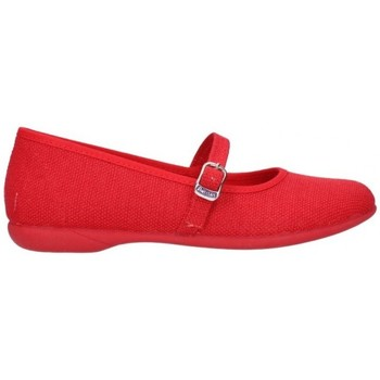 Chaussures Fille Ballerines / babies V-n 14131 rouge