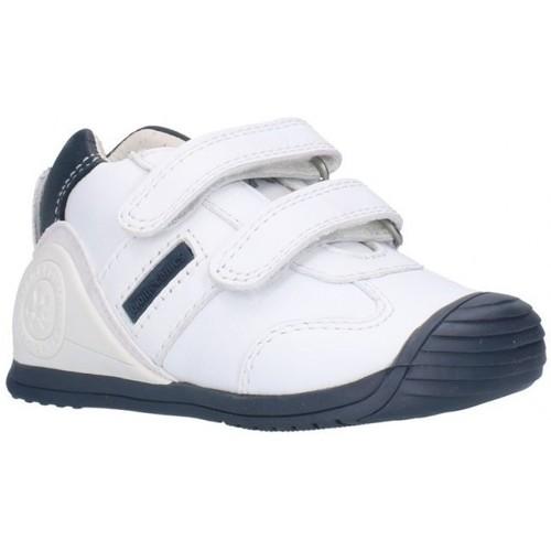 Chaussures Garçon Baskets basses Biomecanics 151157 bleu